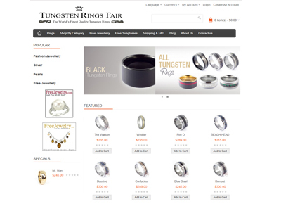 Tungsten Rings Fair