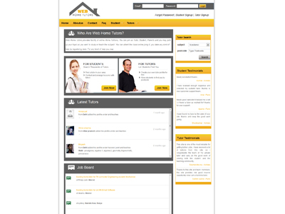 Web Home Tutors